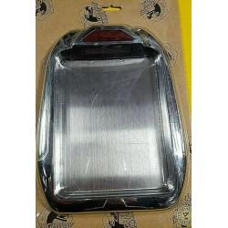 Motocyklowa ramka tablicy rejestracyjnej z podświetleniem  / HH 59-085