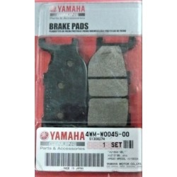 Klocki hamulcowe OEM Yamaha / 4WM-W0045-00