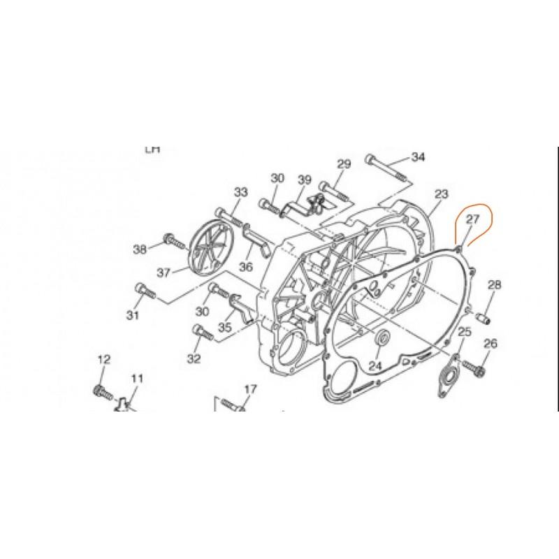 Uszczelka silnika do motocykla Yamaha XVS 1100  / 5EL-15462-00-00