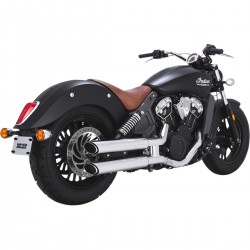 """Tłumiki Vance & Hines Twin Slash Staggered 3"""" Indian Scout 2015- / V18623"""