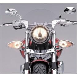 Uniwersalne lampy do lightbarów/drogowe z kierunkowskazami / STR-5C735-10  na motocyklu
