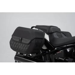 Kufry boczne Sw-Motech Legend Gear LH2/LH1 Softail Breakout FXBR '18- / BC.HTA.18.682.20500