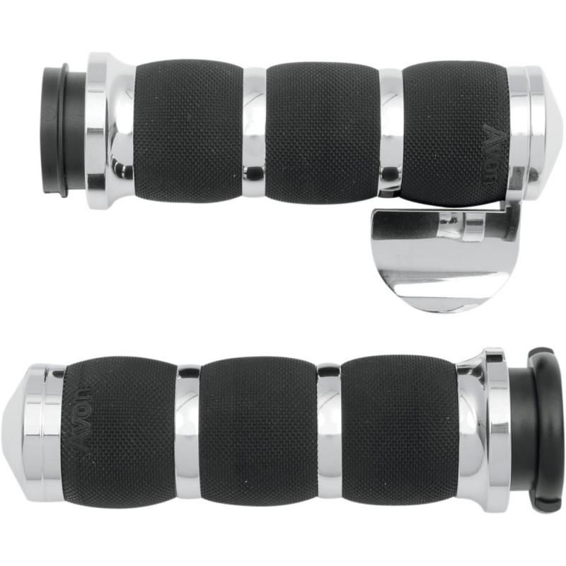 Chromowane manetki z tempomatem do motocykla H-D / AV-AIR-90-CH-FLY-B