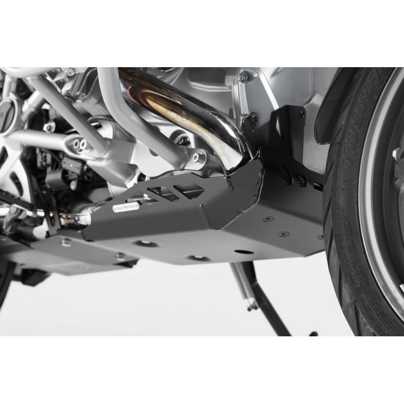 Czarna aluminiowa osłona pod silnik SW-MOTECH BMW R1200GS LC / Adventure / MSS.07.781.10001/B