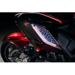 Nakładki na wlot powietrza z podświetleniem Honda Gold Wing 1800 '18- / GOLD-48320