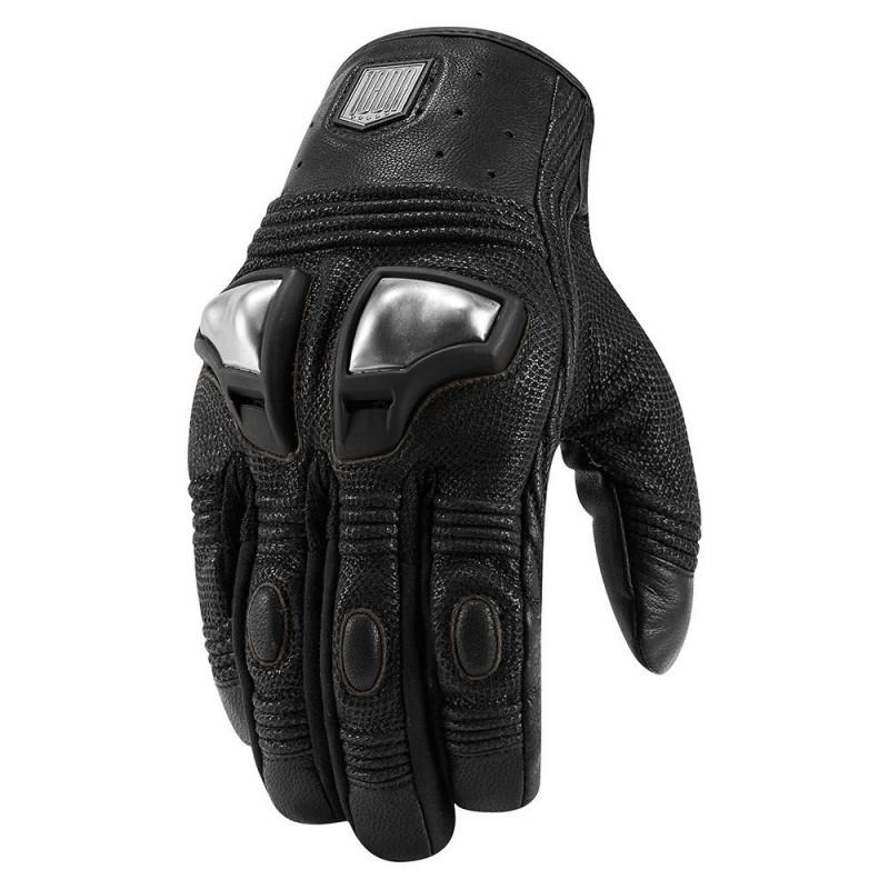 Rękawice motocyklowe męskie ICON 1000 RETROGRADE