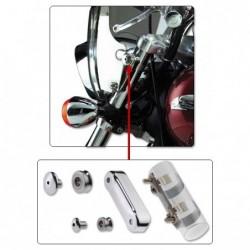 Motocyklowa szyba typu SwitchBlade 2-Up / N21107 - zestaw