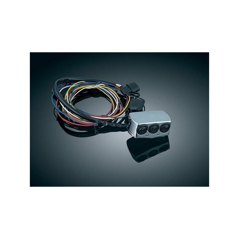 Przełącznik 3 - pozycyjny do motocykli Honda i Yamaha / KY-7803