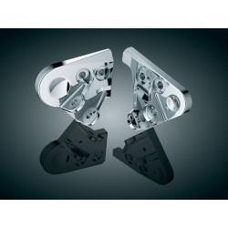 Chromowane mocowania podnóżków do Hondy GL1800 / KY-4544