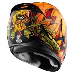 Kask motocyklowy ICON Airmada Trick or Street / grafika