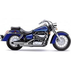 Motocyklowy układ wydechowy Classic Deluxe Slashcut / COBRA 1563SC