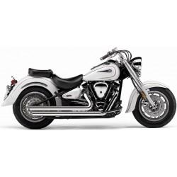 Motocyklowy układ wydechowy Speedster Slashdown, '08-'13 Road Star / COBRA 2822