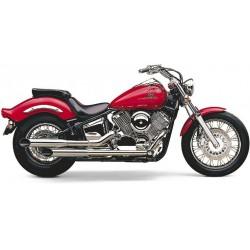 Motocyklowy układ wydechowy Classic Deluxe Slashcut  / COBRA 2567SC