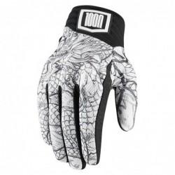 Krótkie rękawice motocyklowe ICON 1000 Luckytime