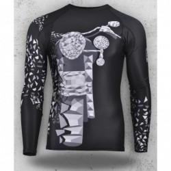 Koszulka termoaktywna / Longsleeve rashguard MIDNIGHT