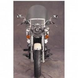 Motocyklowe deflektory na nogi / N763A - widok z przodu