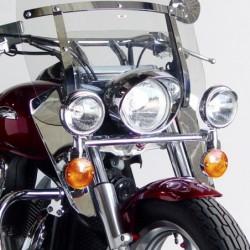 Motocyklowe deflektory na nogi do szyb Switchblede / N76601na VTX