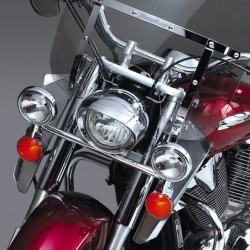 Motocyklowe deflektory na nogi do szyb Switchblede / N76601 do Hondy VTX