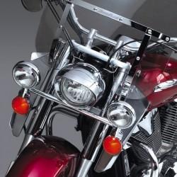 Motocyklowe deflektory na nogi do szyb typu SwitchBlade / Honda