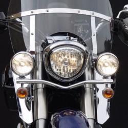 Motocyklowe deflektory na nogi do szyb typu SwitchBlade / Yamaha XVS