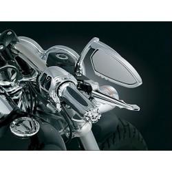 Motocyklowe manetki Zombie z czaszką / KY-6296