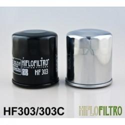Filtr oleju Hiflo do motocykli Yamaha, Honda i Kawasaki / HF303