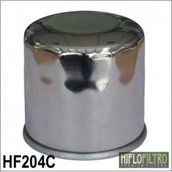 Motocyklowy filtr oleju Hiflo do Honda, Yamaha, Kawasaki, Suzuki i Triumph / HF204C