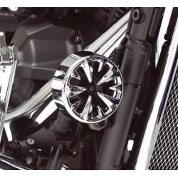 Chromowana osłona sygnału motocyklowego / BB 63-320