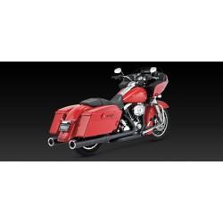 Motocyklowy układ wydechowy Hi-Output czarny / V46759