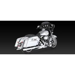 Motocyklowy tłumik Twin Slash Round Slip - Ons / V16763