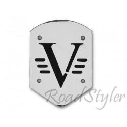 Motocyklowe oparcie pasażera - różne wzory blach - V