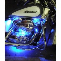 Street FX podświetlanie motocykla (długie) - fioletowe