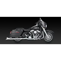 Motocyklowe kolektory Dresser Duals - chromowane '95-'08 Touring  / V16799