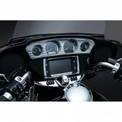 Chromowana nakładka Tri-Line na liczniki Harley Davidson / KY-7284