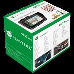 Nawigacja motocyklowa Navitel / G550 - zestaw