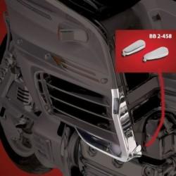 Chromowane nakładki na śruby bocznej listwy do motocykli Honda GL 1500 / BB 2-458
