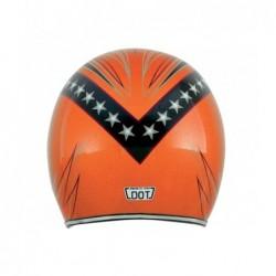 Kask motocyklowy AFX FX-76 Orange połysk
