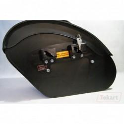Mechanizm mocowania sakw TOKART długi 355 mm - system zamykania