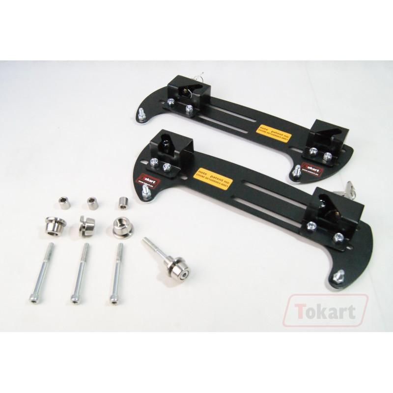 Mechanizm mocowania sakw TOKART ekstra długi 385 mm