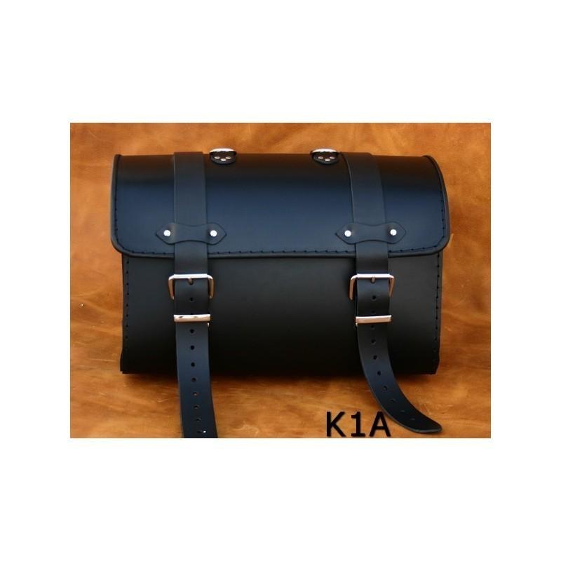 Centralny kufer motocyklowy gładki / SA-K1A
