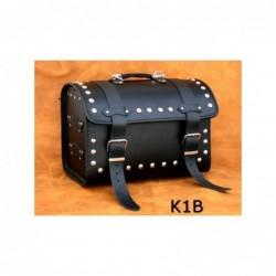 Centralny kufer motocyklowy ćwiekowany / SA-K1B