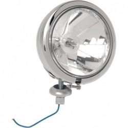 Chromowana lampa...