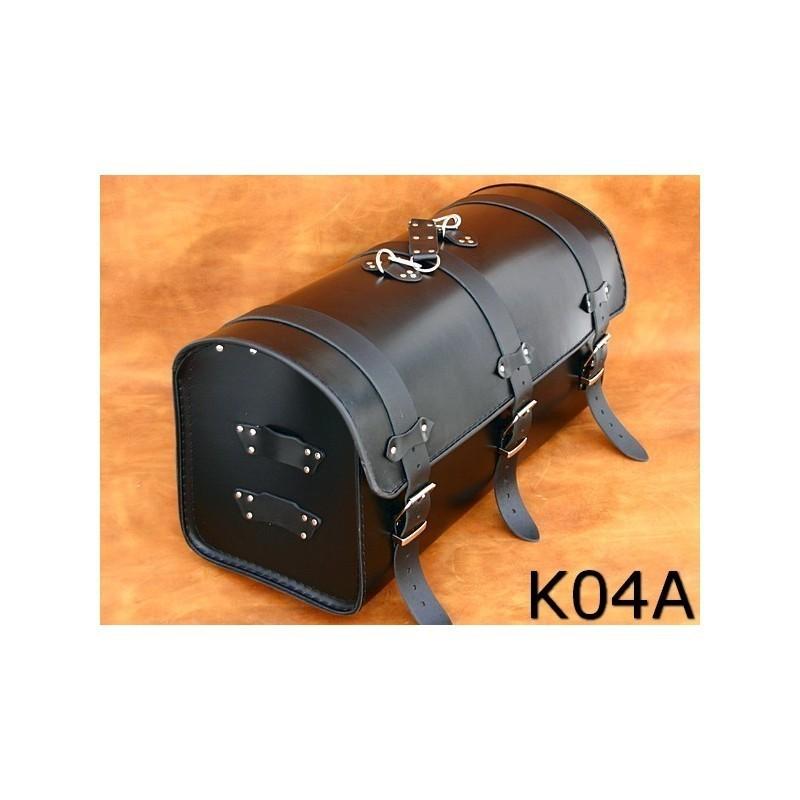 Duży centralny kufer motocyklowy gładki / SA-K4A