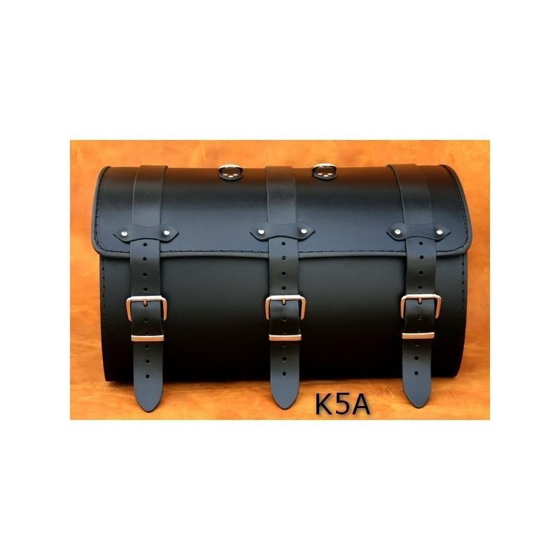 Średni centralny kufer motocyklowy gładki / SA-K5A