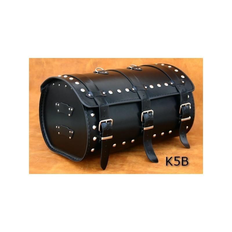 Średni centralny kufer motocyklowy ćwiekowany / SA-K5B