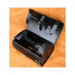 Średni centralny kufer motocyklowy ćwiekowany / SA-K5B - wnętrze