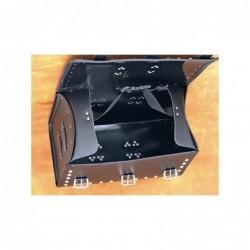 Kufer centralny ćwiekowany z frędzlami / SA-K7C - WNĘTRZE