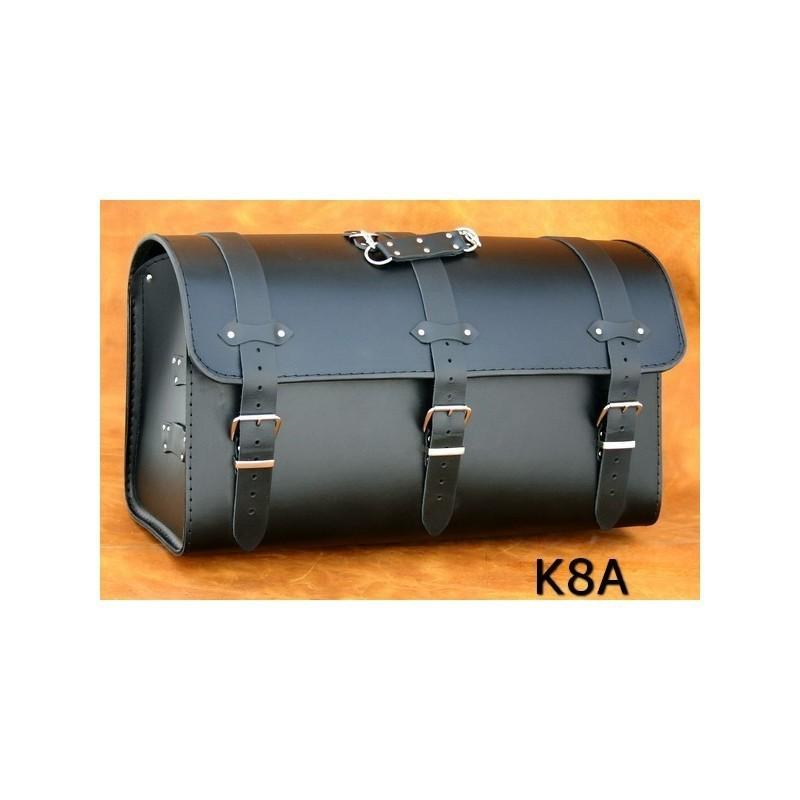 Duży motocyklowy kufer skórzany / SA-K8A
