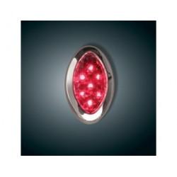 Czerwone podświetlenie LED...