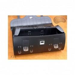 Duży centralny kufer z zamkiem ćwiekami i frędzlami / SA-K16C - środek